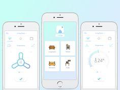 Casa Smart Home App Settings concept - Daily UI #007 on Behance