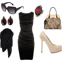love the dress and bag