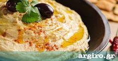 Χούμους με ρεβύθια και ταχίνι από την Αργυρώ Μπαρμπαρίγου   Αυθεντική συνταγή για ένα νηστίσιμο, παραδοσιακό πιάτο γεμάτο γεύση, με μεγάλη διατροφική αξία!