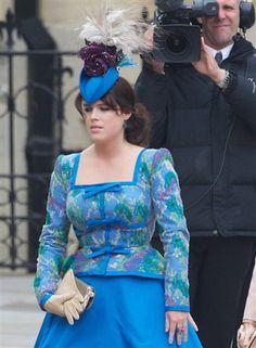 Princess Eugenie wedding outfit, major fashion fail