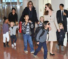 Brad Pitt Angelina Jolie Getty Images