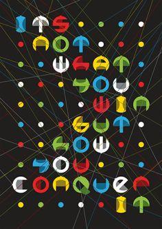 Conqueror's Typographic Games