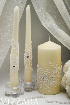 wedding rustic unity candles holders wedding ceremony unity #floatingunitycandle
