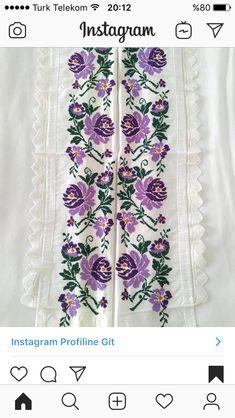 Floral Tie, Stitching, Instagram, Fashion, Cross Stitch Borders, Border Tiles, Dots, Floral Lace, Moda