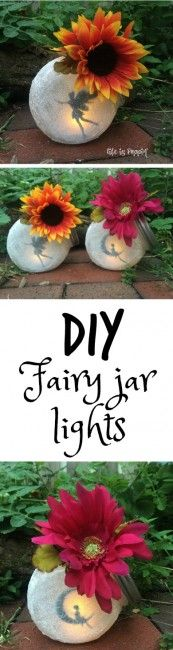 Fairy in a Jar Night-Lights - Life is Poppin'