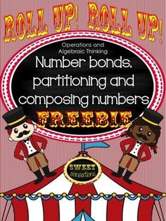 This is a fun introduction to Kindergarten Operations and Algebraic Thinking to introduce composing and decomposing numbers, as well as a helpful review for First Graders working with associative properties of number and missing addends.Use as a whole class, in groups or for RTI Tier II intervention.Students need to have a firm foundation of number bonds and building and breaking numbers before they can attempt missing addends, so to begin with demonstrate using the number bonds work mats…