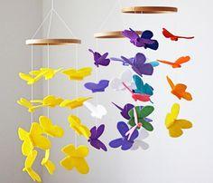 moviles para cuna #habitacióndelbebé #decoraciónbebé #nursery #moviles