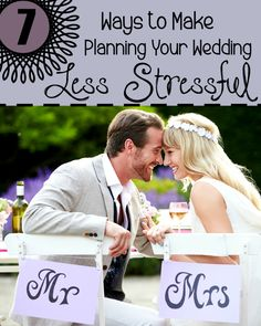 Plan your wedding with ease with these 7 ways to make it a lot less stressful | easy wedding planning tips