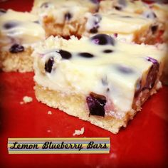 Tangy lemony flavor combined with sweetness from the blueberry melts in your mouth like cheesecake and you will swear the crust has butter in it. I absolutely love this and you will too!!
