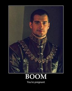 """""""Boom! You're Pregnant!"""" #HenryCavill Created by HCF Admin Sarah!! <3 https://www.facebook.com/HenryCavillPeoplesSxiestManAlive"""