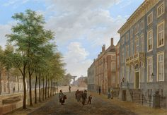 The_Hague,_The_Herengracht_in_the_direction_of_the_Bezuidenhout,_by_Bartholomeus_Johannes_van_Hove.jpg (865×598)