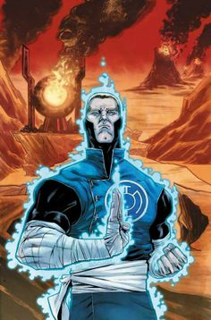 Blue Lantern: Guy Gardner (Future's End) Comics Anime, Dc Comics Art, Comic Books Art, Comic Art, Blue Lantern Corps, Comic Character, Character Design, Green Lantern Sinestro, Star Trek