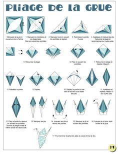 How To Make An Origami Crane Step By Instructions Easy