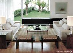 clami design  sala com vista para o jardim