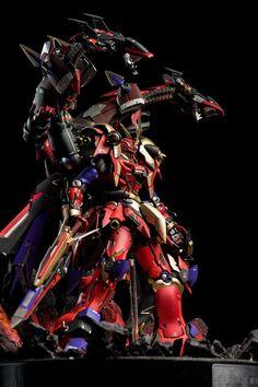 Custom Build: MG 1/100 MSN-06S Sinanju [Gilgamesh - The King of Heroes] - Gundam Kits Collection News and Reviews