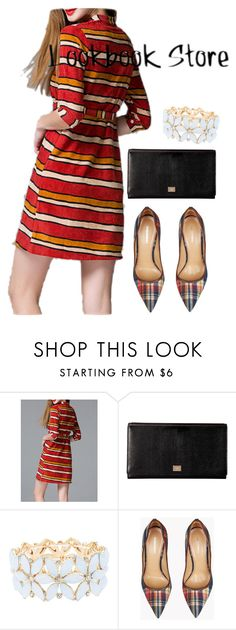 """""""dress"""" by masayuki4499 ❤ liked on Polyvore featuring Dolce&Gabbana, Charlotte Russe and Dsquared2"""