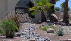 I want a dry river bed like this in my front yard!