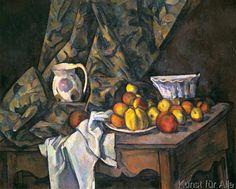 Paul Cézanne - Nature morte avec pommes et pêches