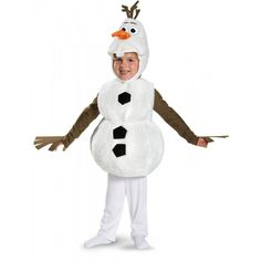 Costume Olaf luxe pour enfant