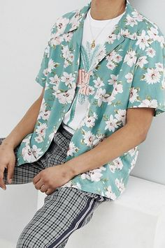 On my wishlist : Milk It revere shirt in floral print reg fit from ASOS #ad #men #fashion #shopping #outfit #inspiration #style #streetstyle #fall #winter #spring #summer #clothes #accessories