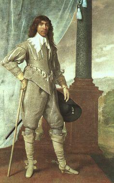 James Hamilton, 1. Duke of Hamilton (1606–1649) painted 1629.