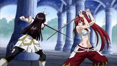 ✨My Top 10 Fairy Tail Fights✨ | Fairy Tail