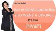 how to tell husband that you want a divorce