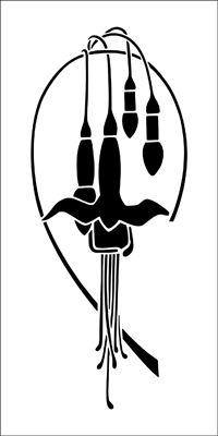Motif No 60 stencil from The Stencil Library online catalogue. Buy stencils online. Stencil code DE250.
