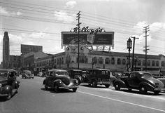 Wilshire and Vermont, circa 1937. (LAPL) Bizarre Los Angeles