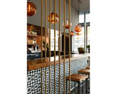 Corazón is a Mexican restaurant for Portland chef, Chris Israel. The space is situated at the ground floor of the Indigo Building, a Portland high rise designed by ZGF Architects.– Jessica Helgerson Interior Design