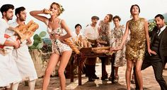 Wannabe a fashionista ? Dolce & Gabbana's as good a place as any to start...
