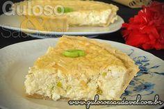A sugestão para o #jantar é super fácil, mas deliciosa é a Quiche de Queijo com Alho Poró (com 3 queijo). #Receita aqui: http://www.gulosoesaudavel.com.br/2012/06/12/quiche-queijo-alho-poro/