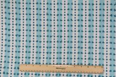 Onyx Age Dolly Woven Cotton Decorator Fabric in Aqua Outdoor Upholstery Fabric, Drapery Fabric, Fabric Decor, Woven Cotton, Printed Cotton, Fabric Roman Shades, Pacific Blue, Leaf Prints, Decorative Pillows