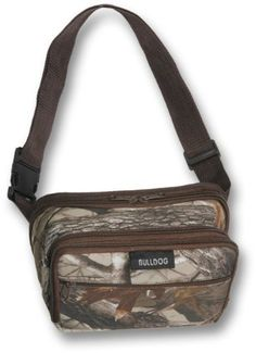 Pin it! :)  Follow us :))  zCamping.com is your Camping Product Gallery ;) CLICK IMAGE TWICE for Pricing and Info :) SEE A LARGER SELECTION of fanny packs and waistpacks at http://zcamping.com/category/camping-categories/camping-backpacks/fanny-packs-and-waistpacks/ - fanny pack, waist pack,  camping, backpacks, camping gear, camp supplies -  Bulldog 3D Camo Fanny Pack with Brown Trim (Large) « zCamping.com