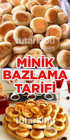 Mini Bazlama Tarifi Mini Desserts, Dessert Recipes, Berry Trifle, Eastern Cuisine, Breakfast Items, Bakery, Brunch, Food And Drink, Cooking Recipes