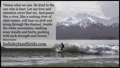 Riding the Spectacular Bore Tide Wave--- leslieleylandfields.com