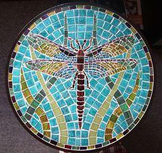 mosaic dragonfly | Dragonfly mosaic | Flickr - Photo Sharing!