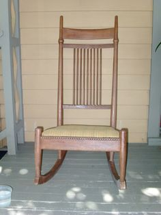 Collectibles General (Antiques): Nursing Rocker, Sewing Rocker, Fred Taylor