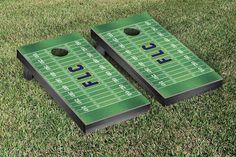 Fort Lewis Skyhawks Football Field Cornhole Board Set