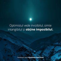 Tu ești un optimist?