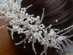 Wedding Hair Pins, Wedding Hair Accessories, Jewelry Accessories, Hair Vine, Hair Lengths, Vines, Wedding Hairstyles, Cinderella, Jewellery