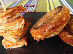 croque-basque. Chorizo piment espelette fromage de brebis gruyere purée de poivron rouge