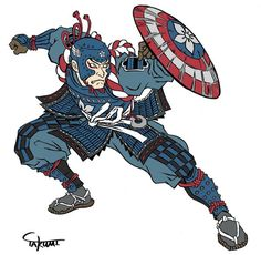 Captain America by Jed Henry & Dave Bull