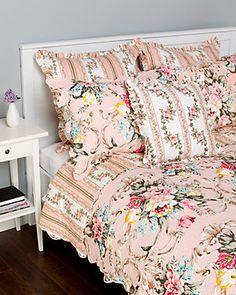 Amity Home Antoinette Quilt Set & Sham Coordinates