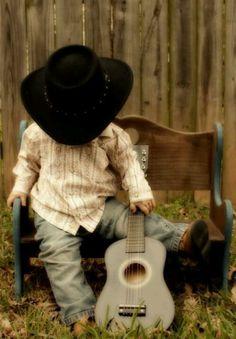 Little country boy. So cute...