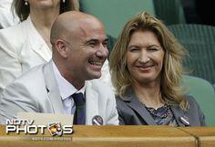 Agassi+Graf Wimbledon 2012