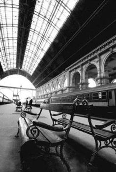 Keleti train station  in Budapest, Hungary -  dejavuphotographic.com