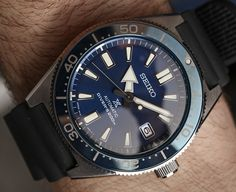 We go Hands-On with the first Seiko Diver Prospex SLA017 'Re-Creation' & SPB051/53 'Re-Interpretation' Watches. Discover them in our latest article.