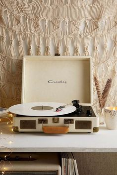 Vinyl Record Storage Shelf Crosley X UO Cruiser Briefcase Portable Vinyl Record Player - Urban Outfitters
