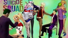 Harley Quinn and Joker & Suicide Squad through The Sims 4,3,2 and the Sims 1 game. Prohibited any copying video or audio recordings and posting on other chan...